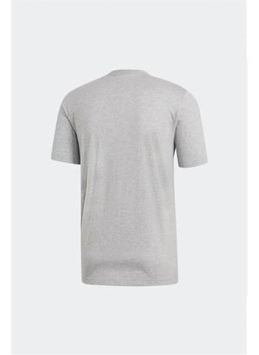 adidas E Pln Tee Erkek Tişört Du0382 Gri